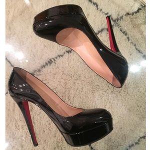 Christian Louboutin Bianca patent leather heels